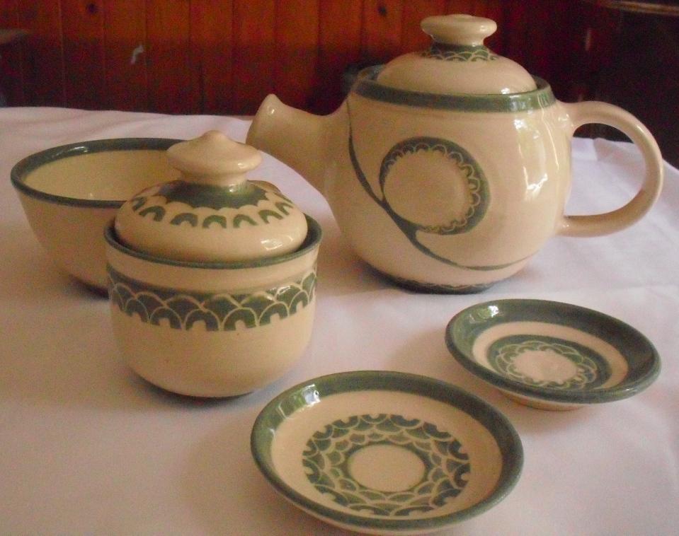 Ceramica Azucena Acevedo Juegos De Te Y Mates Realizados
