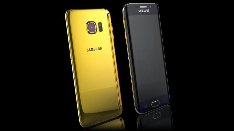 Galaxy S6 & S6 Edge Berlapis Emas Ditawarkan Rp32 Jutaan