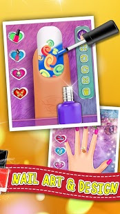 Screenshots of the Princess Nail Manicure Salon for Android tablet, phone.
