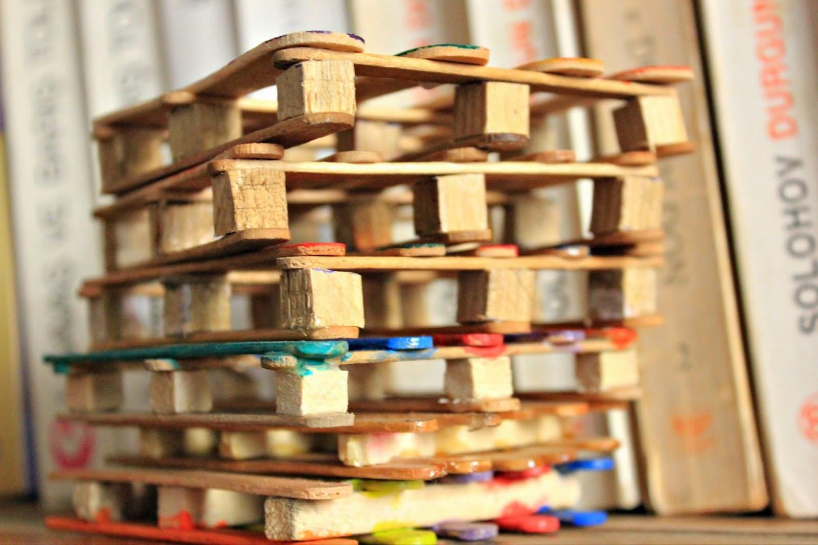 Dondurma Çubuklarından Çerçeve Yapımı