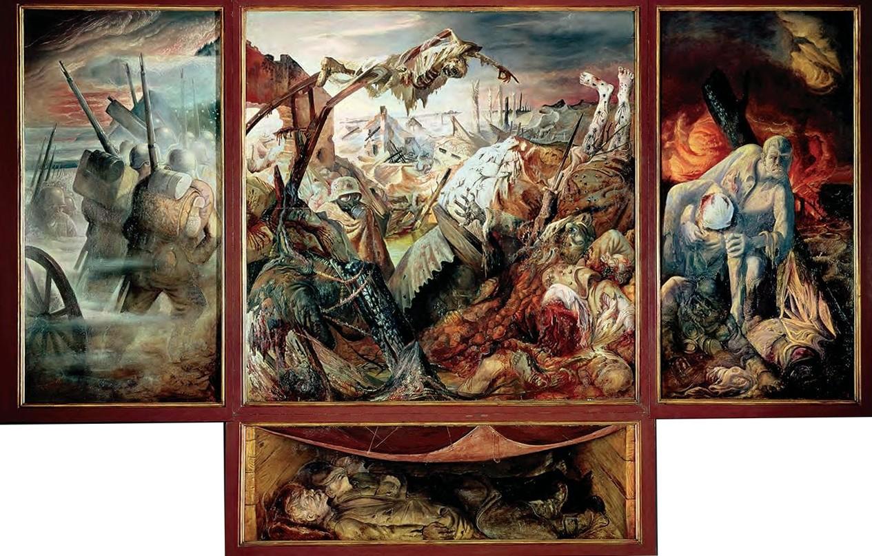 Tableaux de peintres La+guerre+otto+dix