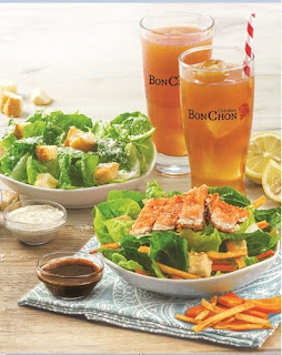 BonChon's Fresh & Light Menu