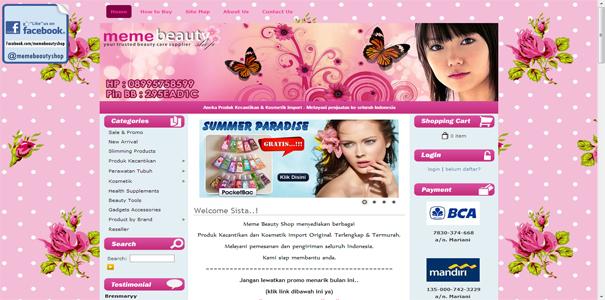 Beauty Shop, polisi online