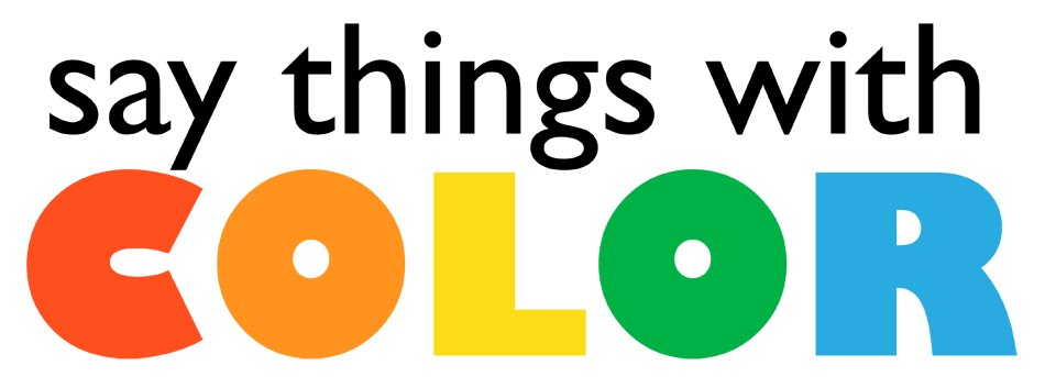 say things with color