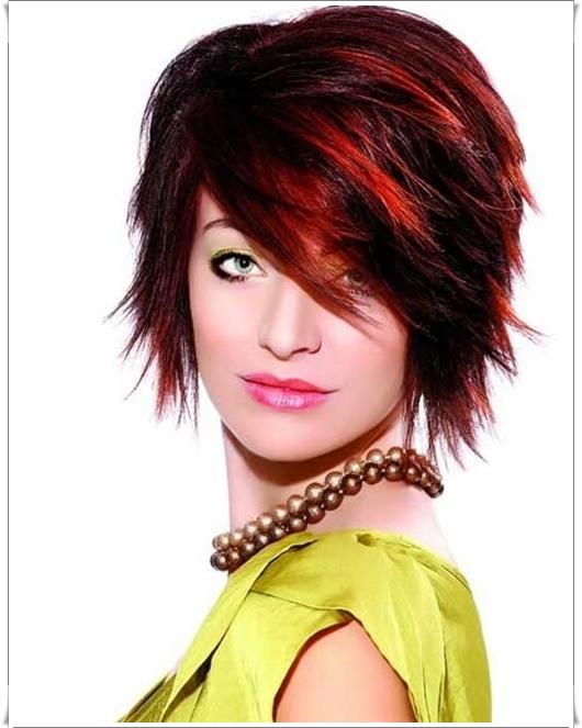 Kreative Frisuren für Kupfer Haare