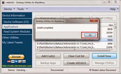 Cara Menambah Bahasa Indonesia Blackberry 9360