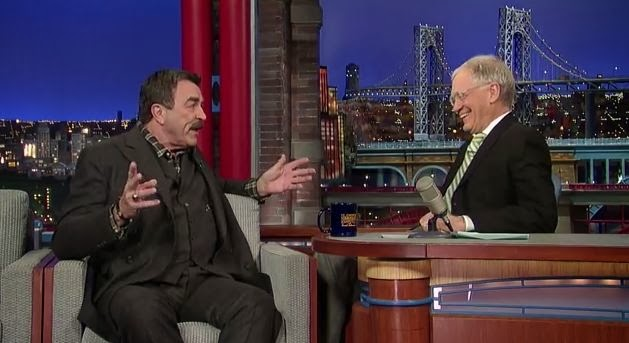 tom selleck letterman
