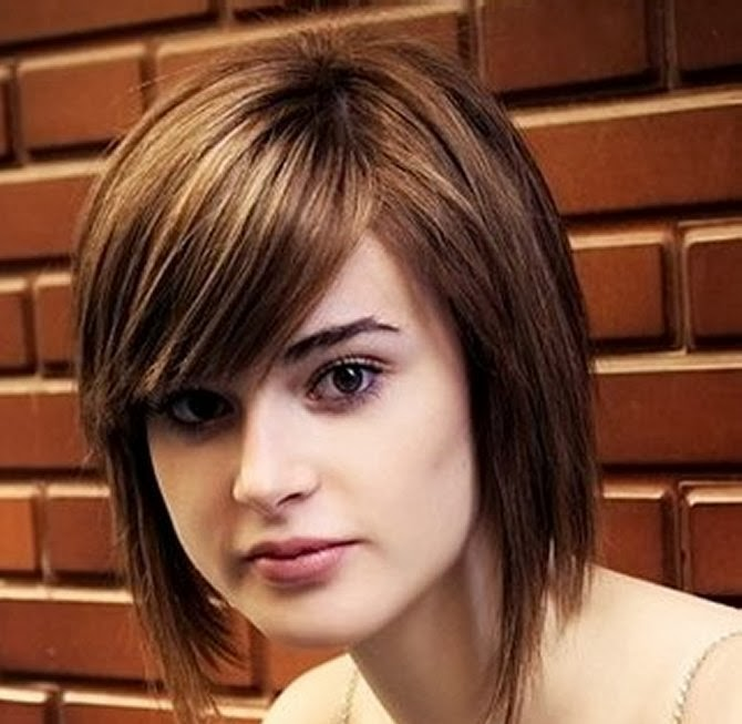 Women with Hairstyles for 2016 with Face Structure