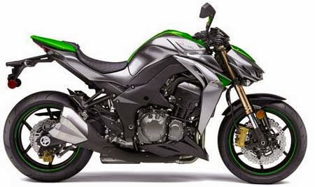 Motor Supersport Kawasaki Z1000