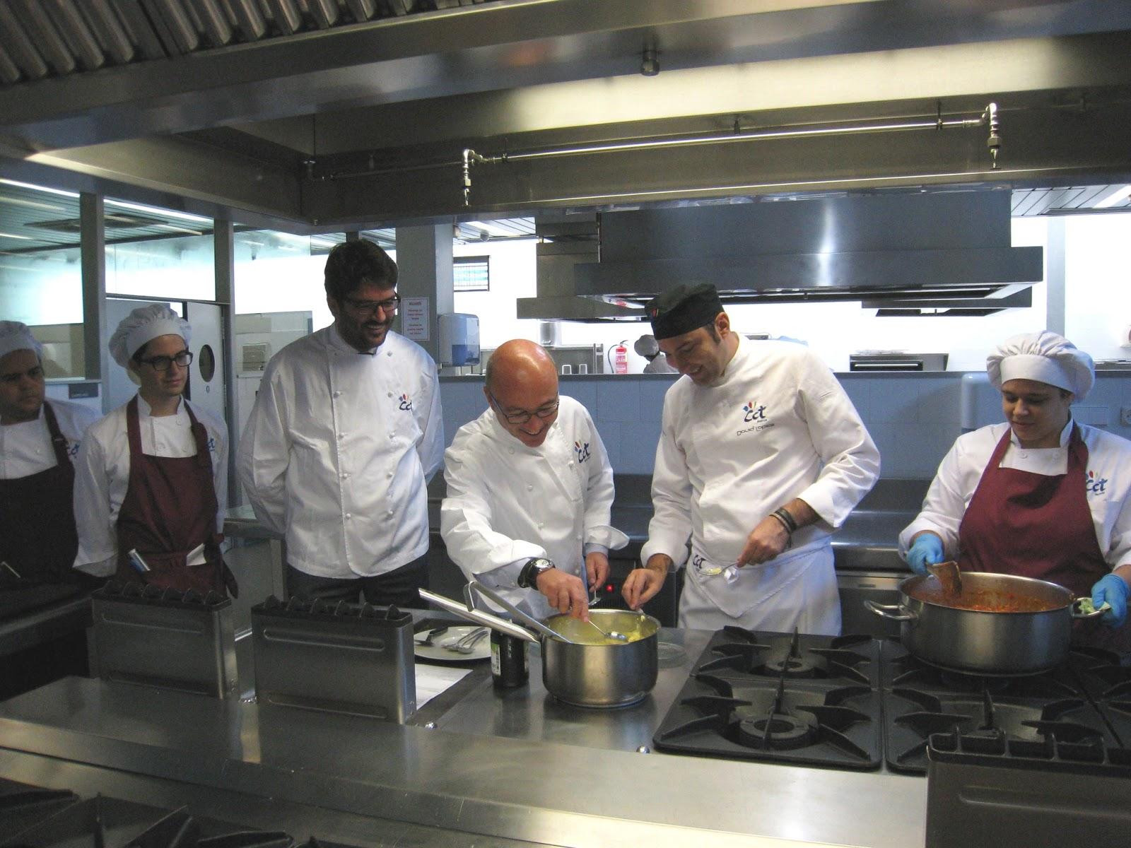 El restaurante escuela del cct exporta su modelo de for Cct de la escuela