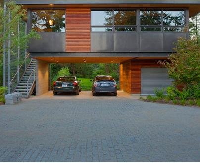 Fotos de techos techos de garajes for Garajes modelos