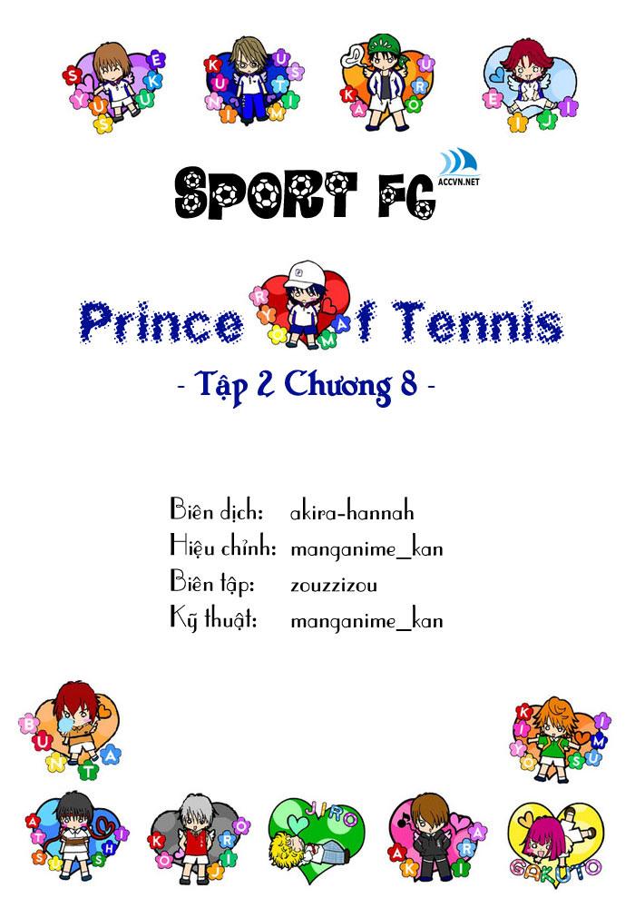 Prince of Tennis chap 8 Trang 1
