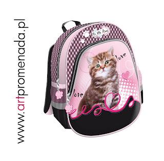 plecak do przedszkola plecak dla przedszkolaka kotki