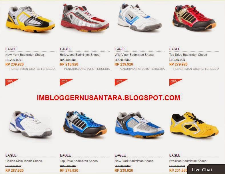Daftar Harga Sepatu Badminton Murah Kualitas Terbaik