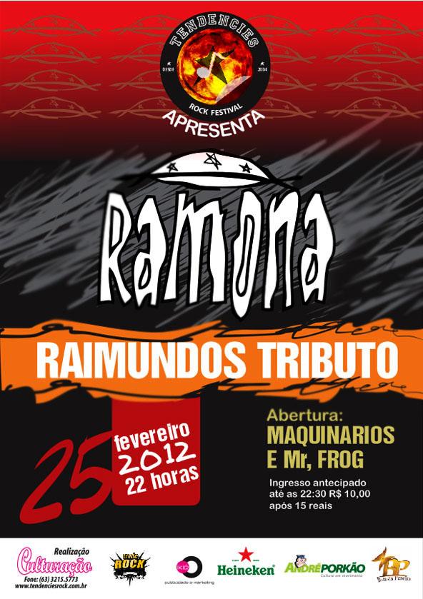 RAMONA: Tributo aos Raimundos | Palmas-TO
