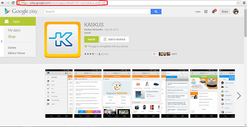 Cara Download APK Google Playstore Dengan Komputer/PC
