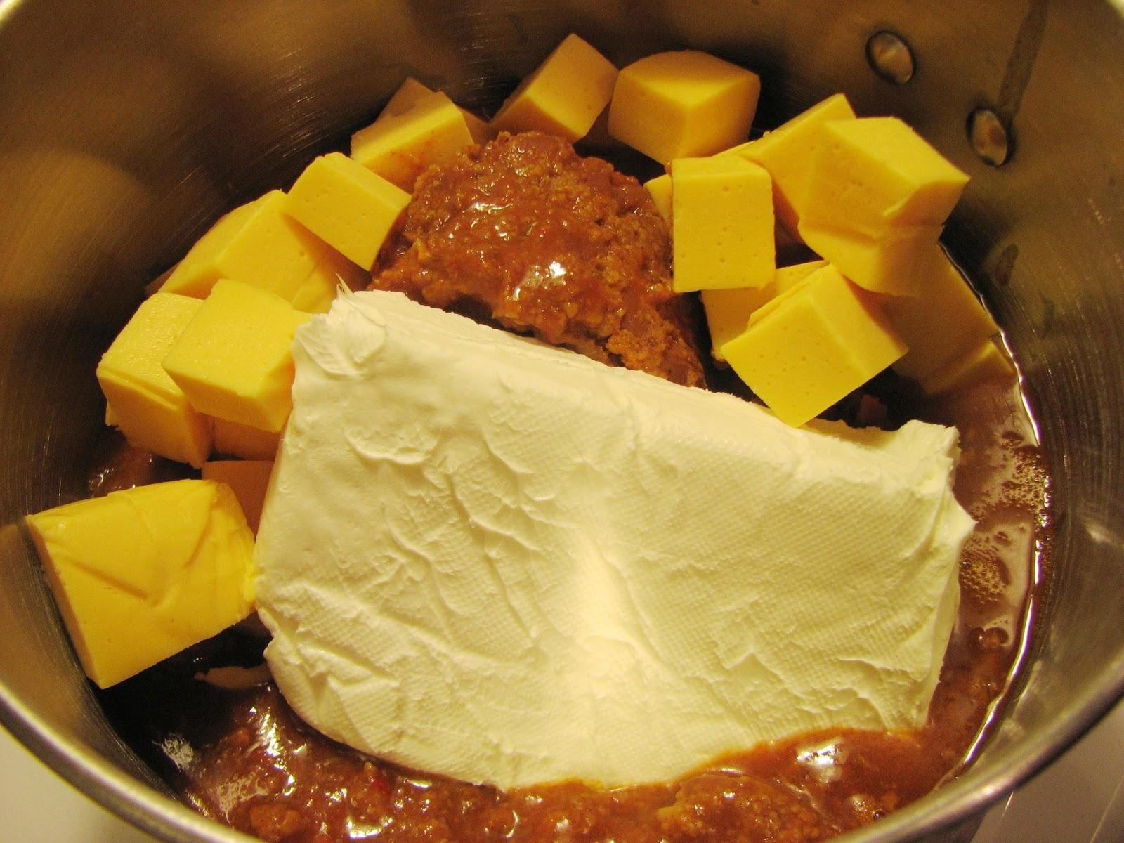 how to cook velveeta cheese dip