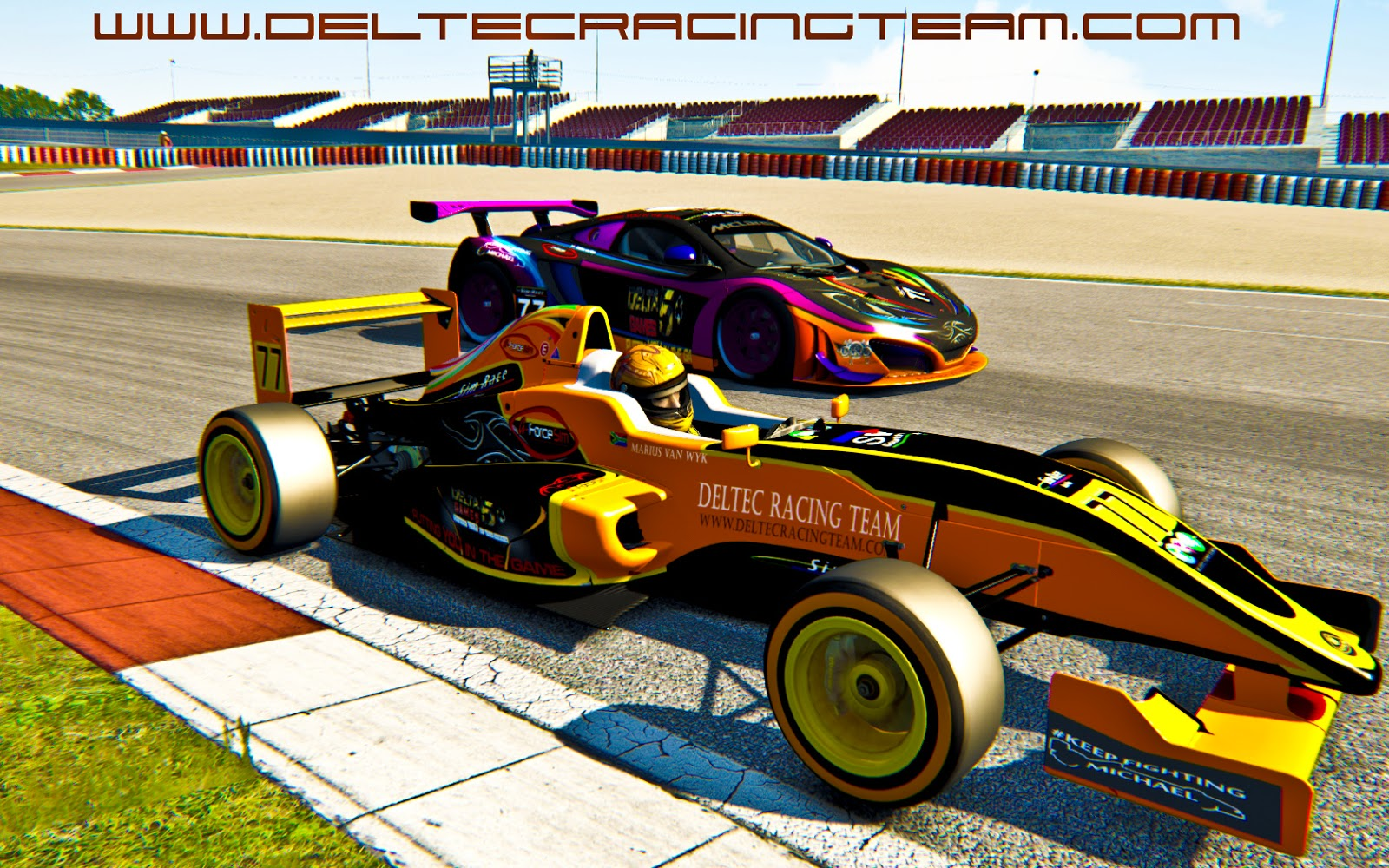Deltec Racing Design Sim Race SA Liveries