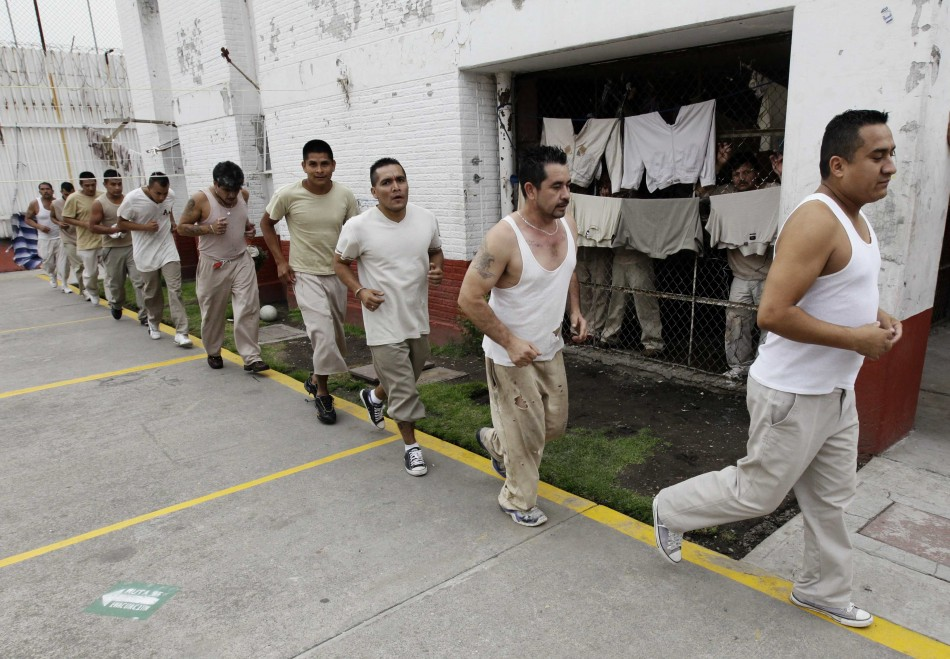 Inmates who escaped from a northern mexico prison did not flee through