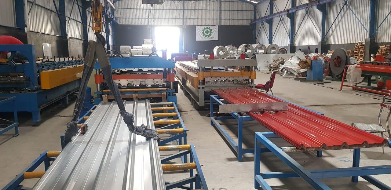 Produksi Spandek di Makassar