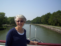 Cindy on the Erie Canal