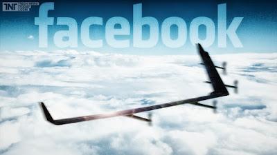 Drone Aquila Facebook Internet
