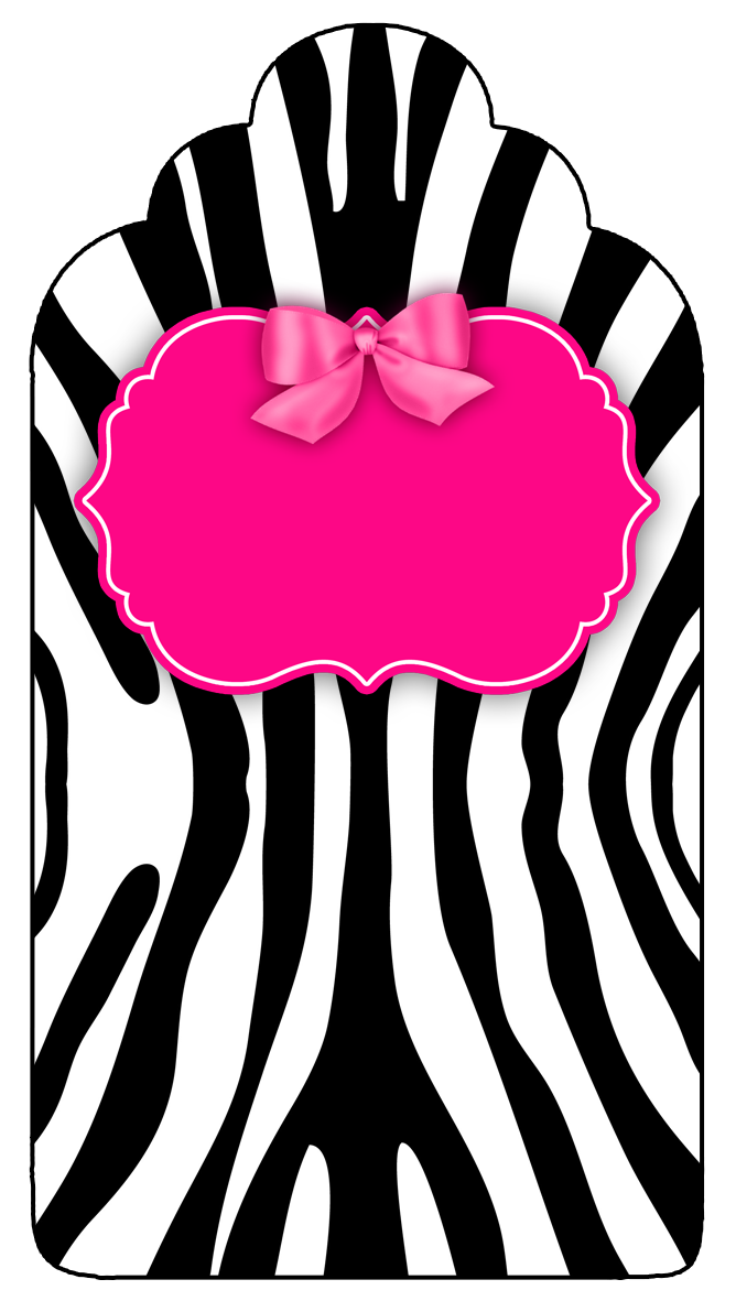 Zebra And Pink Free Party Printable Boxes And