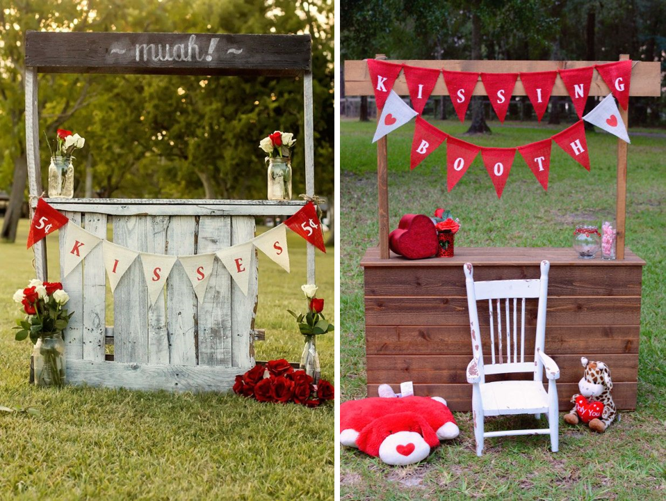 Un kissing booth para tu evento