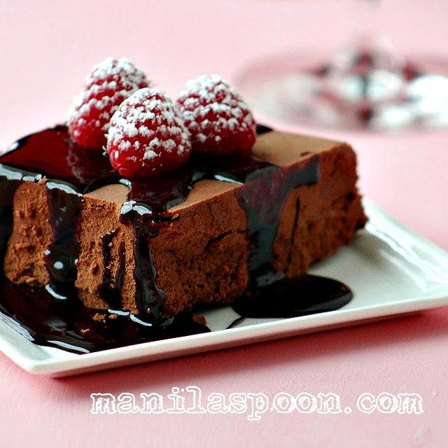 Chocolate Marquise Cake
