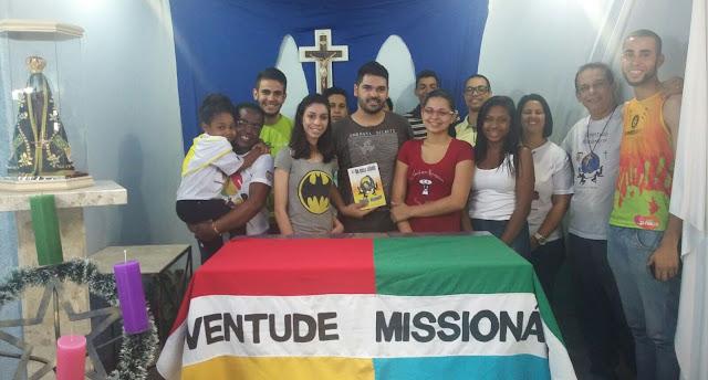 Mais um grupo da Juventude Missionária na Diocese de Guarulhos