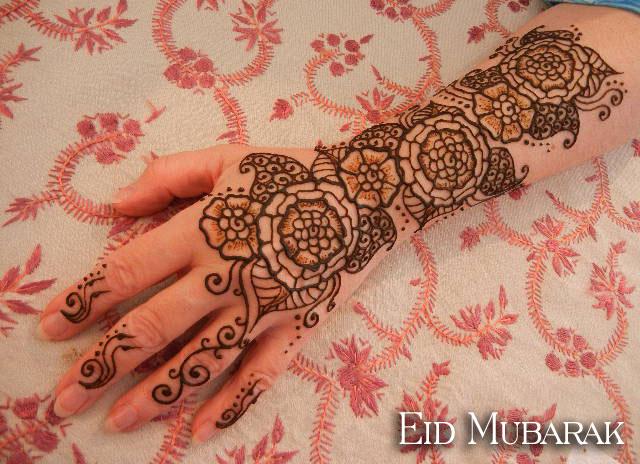 Beautiful Henna Mehndi Designs : New beautiful henna mehndi designs for eid fashion world