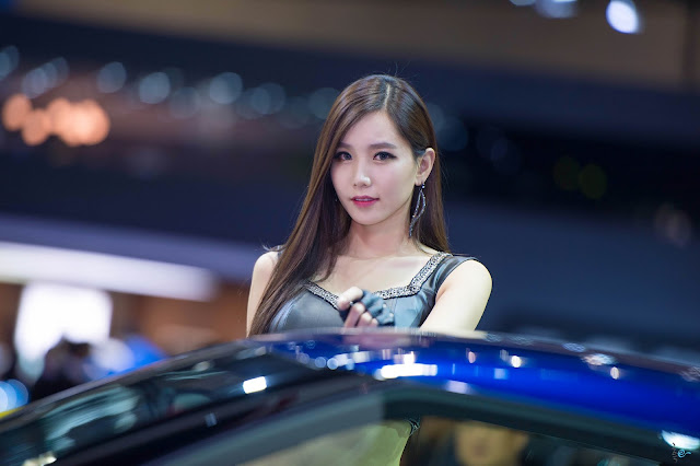 1 Lee Ji Min - Seul Motor Show - very cute asian girl-girlcute4u.blogspot.com
