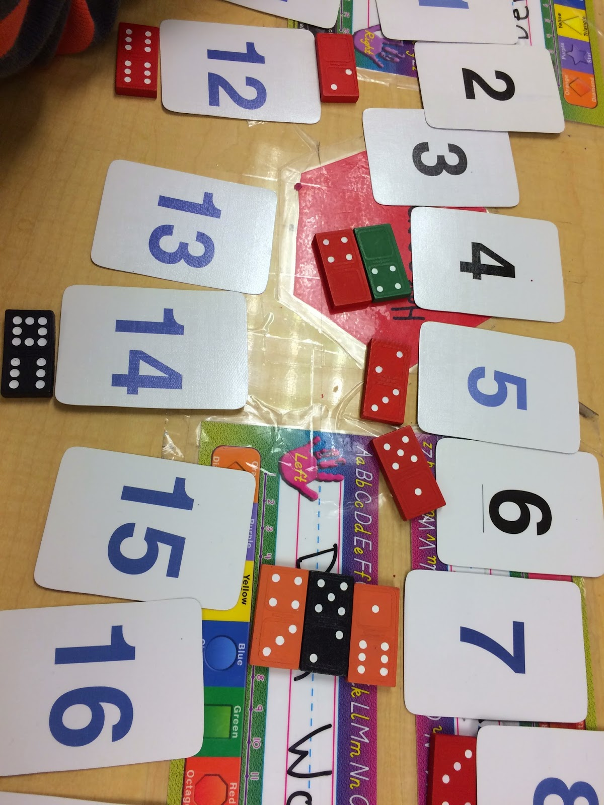 Been Playing Many Different Games That Support Concepts Of Numeracy  Pictured Here Is A Domino Match Game We Have Also Learned How To Play