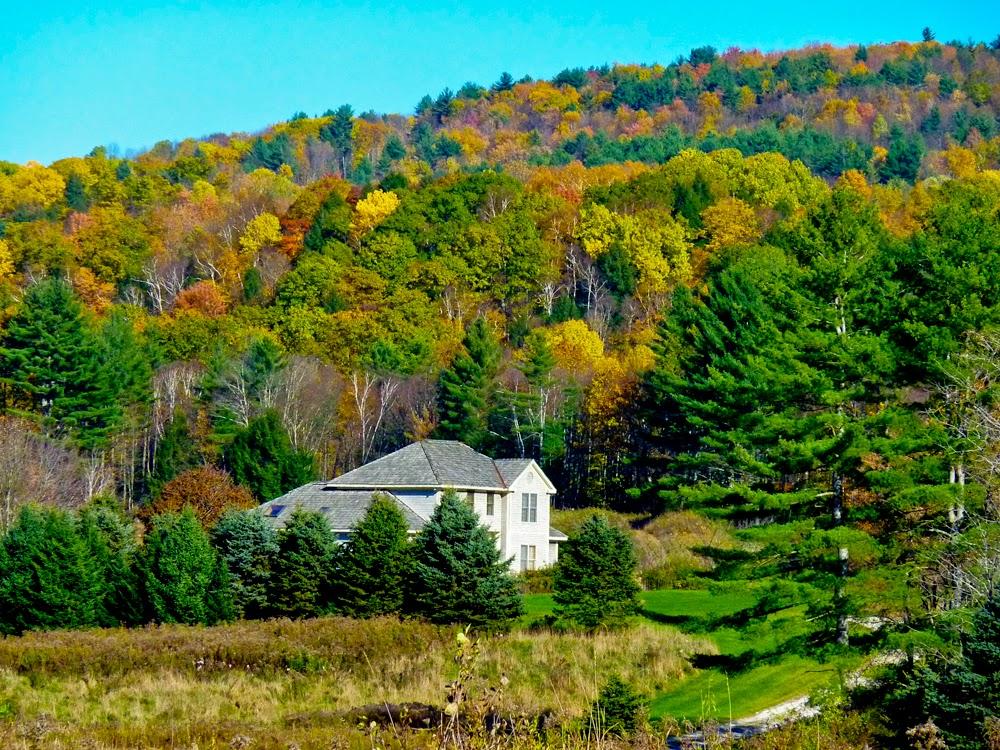 Los mil colores del oto o un road trip por las carreteras for Cabine in montagne verdi del vermont