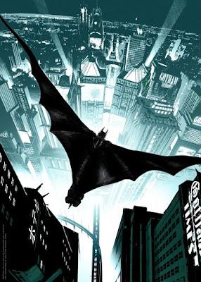 "Batman 75th Anniversary Screen Print Series - ""Batman: Arkham Knight"" by Ronan Toulhoat"