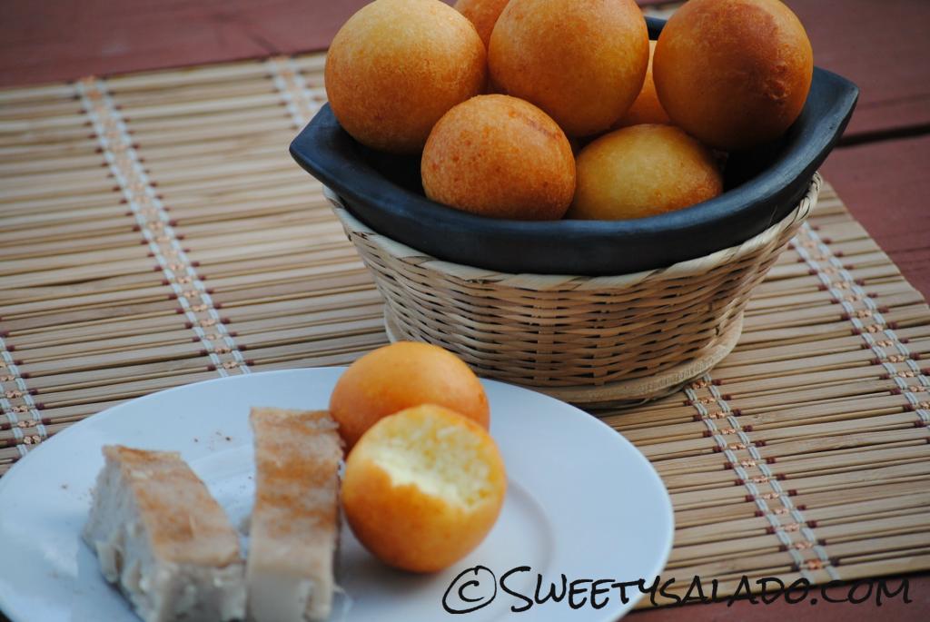 receta para hacer bunuelos colombianos
