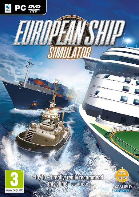 European Ship Simulator Download Cover Free Game