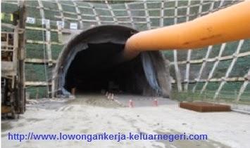 Lowongan Konstruksi pembangunan terowongan  di Taiwan 1  - Pendaftaran Kerja Ke luar Negeri Ali Syarief 0877-8195-8889 - 081320432002 Pin : 742D4E56
