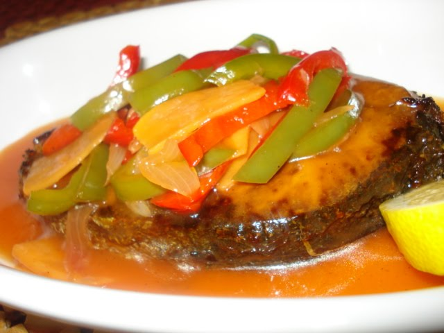 Lutuing pinoy fish escabeche for Filipino fish recipes