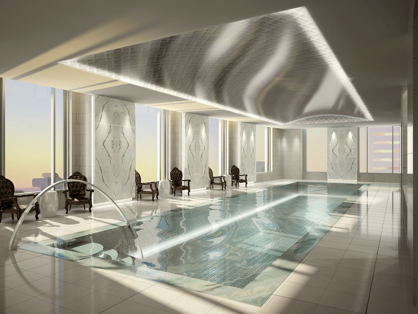 Fabulous hotel indoor pools travelista73 for Swimming pools downtown toronto
