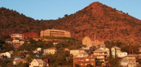 Day time view of Jerome, Arizona