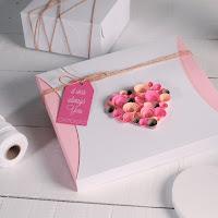 decoración caja de regalo san valentín