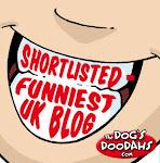 Shortlisted, UK funniest blog, 2013.