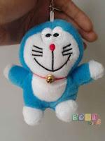 Gantungan Kunci Boneka Doraemon