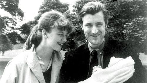 Sylvia Plath ve eşi ile ilgili görsel sonucu