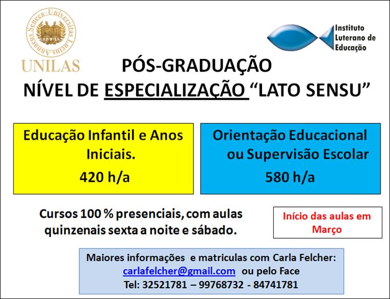 Pós-Graduação em Canguçu