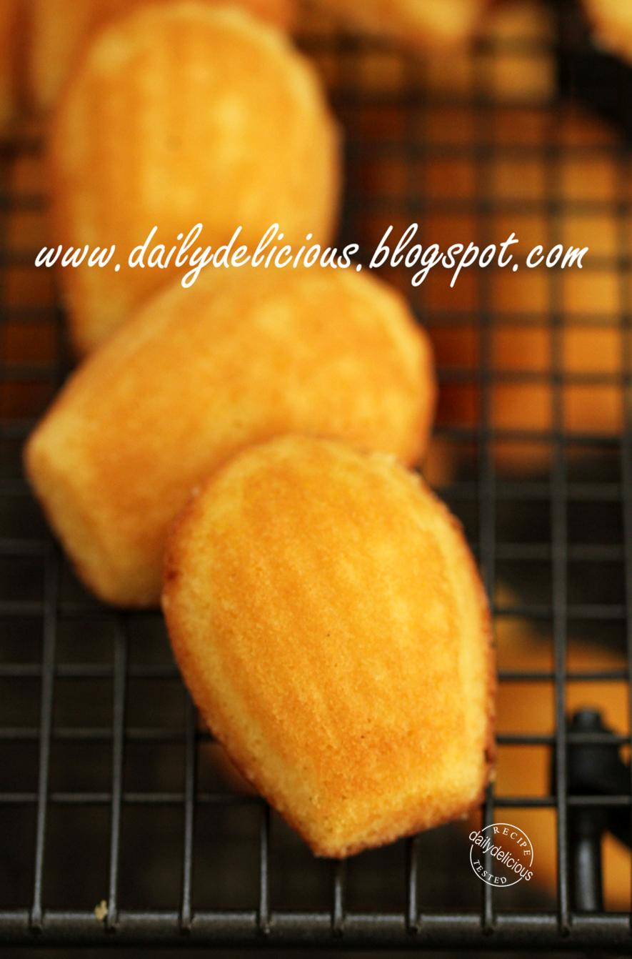dailydelicious: Wild Honey and vanilla Madeleines: Best treat for my ...