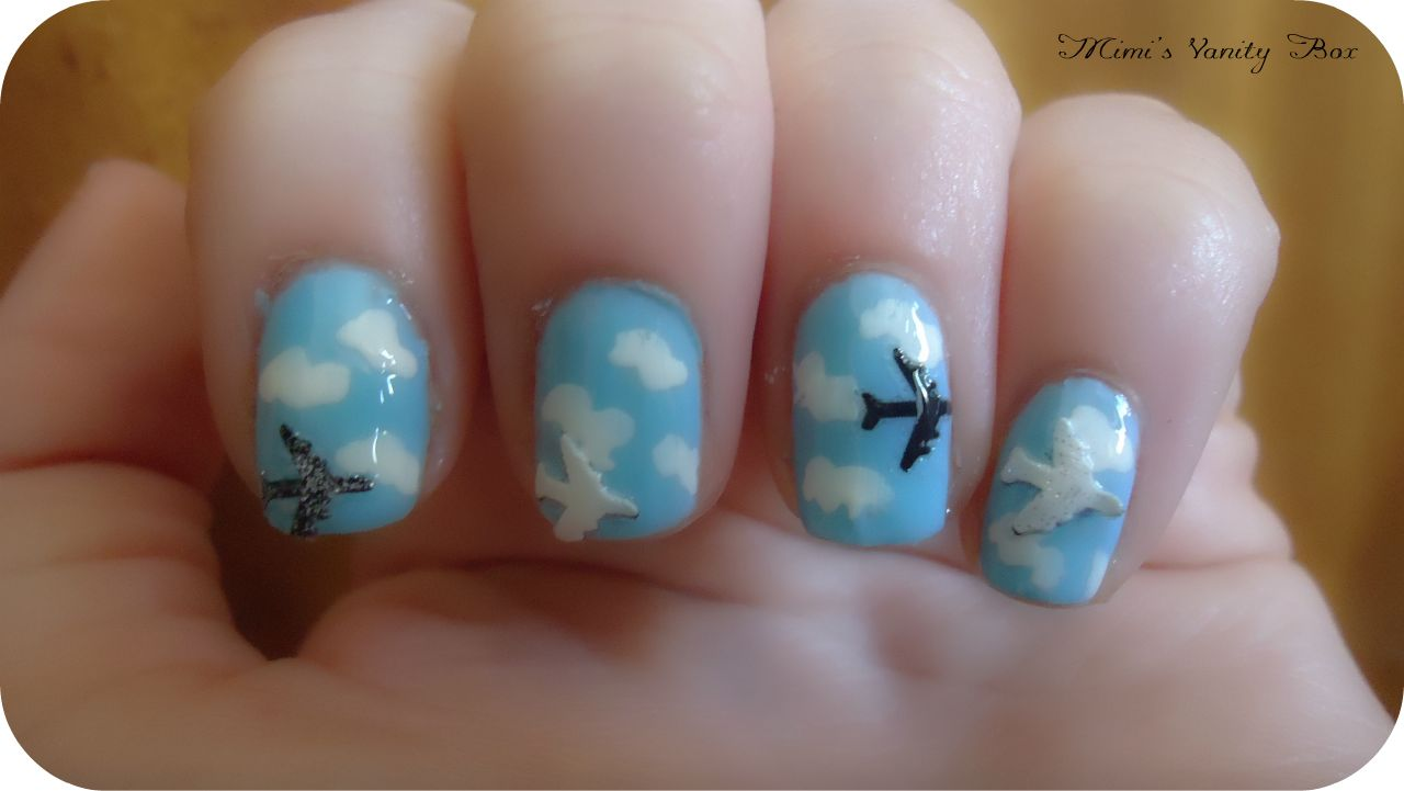 Fingernail Polish On Airplane