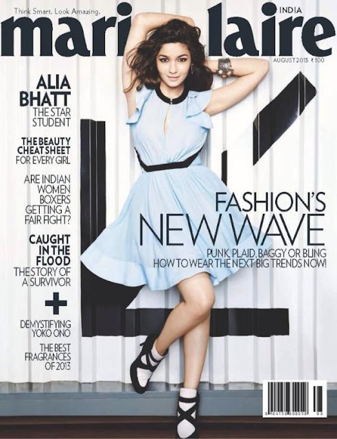 Alia Bhatt marie clarie photo shoot