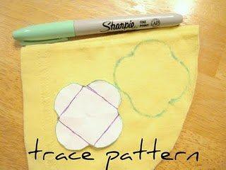 Kedua: Potong kain sesuai pola